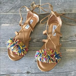 New Item Steve Madden Swizzle Strappy Sandals
